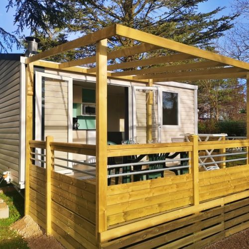 Camping Barralet Location Mobil Home 2 Personnes